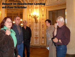 2005 Besuch des hessischen Landtages